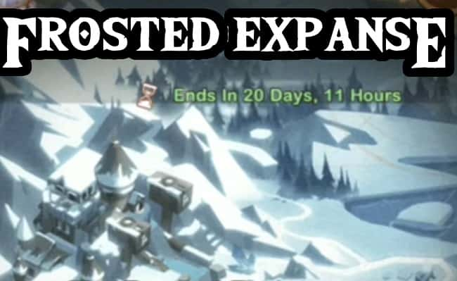 afk arena voyage of wonders frosted expanse guide