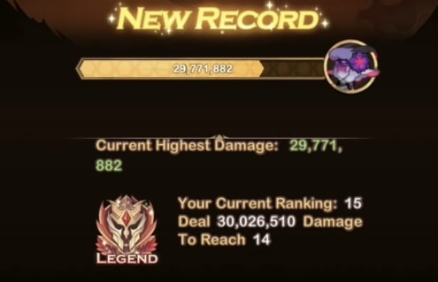 afk arena twisted realm damage ranking