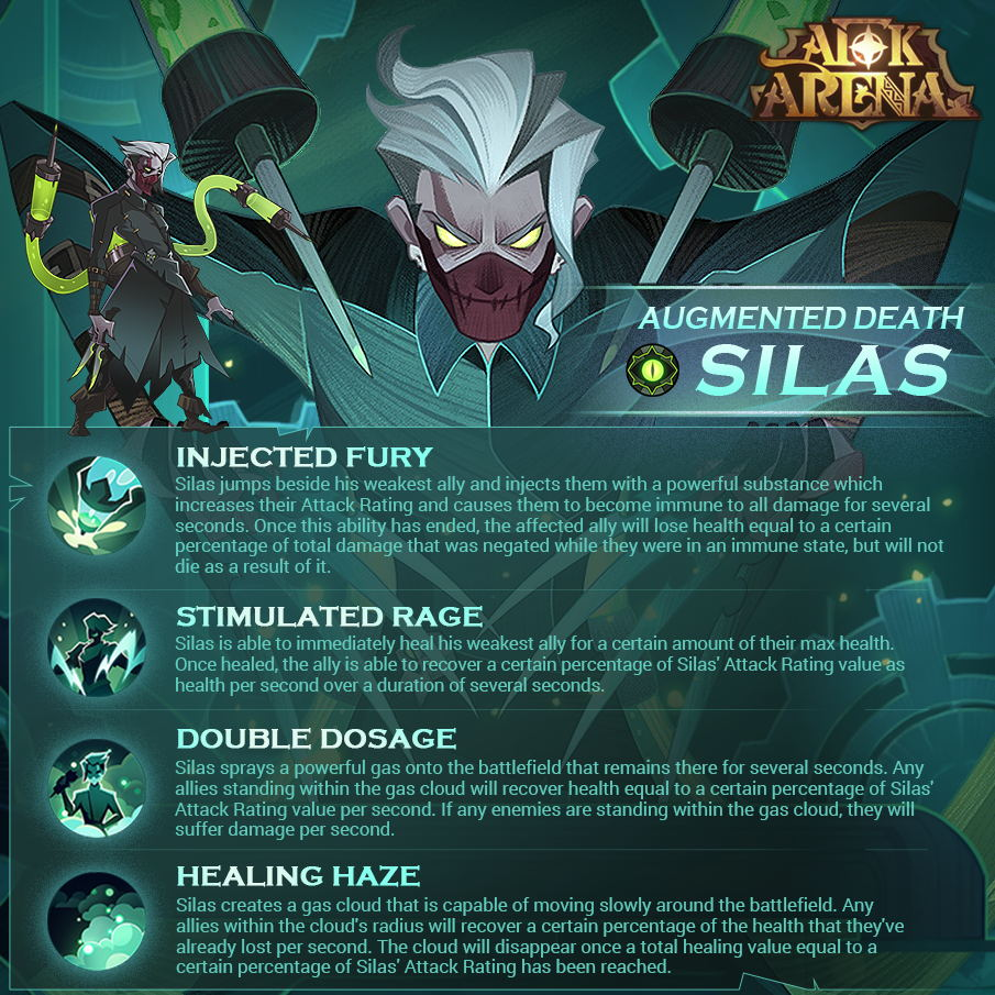 new hero silas afk arena