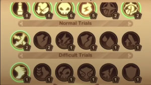 afk arena trials of god fields of stone trial selection